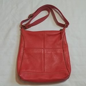 The Sak Bags - The Sak Red Leather Shoulder Bag Purse